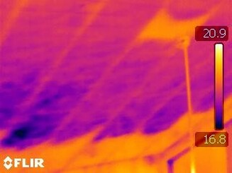 Thermal Infrared Image from Home Inspection